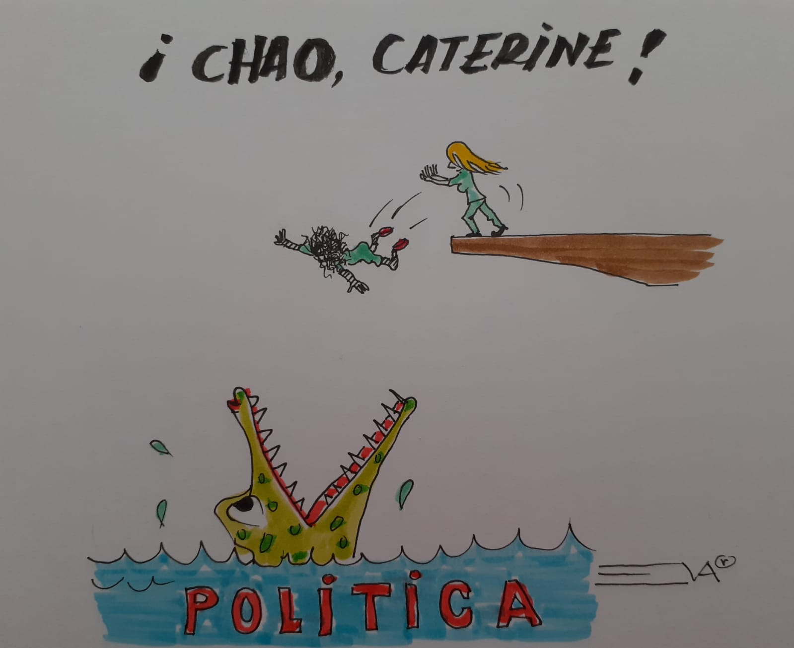 ¡ CHAO, CATERINE !